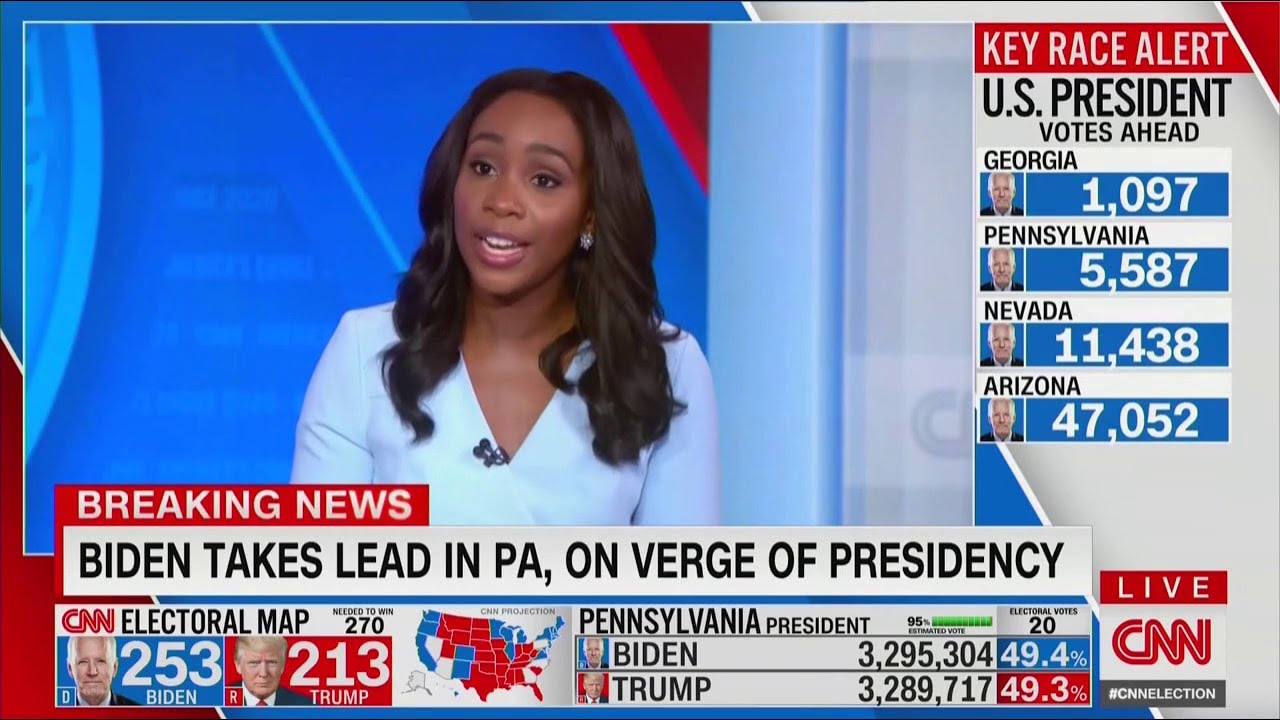Trump Is Going Down While CNN's Abby Phillip Is Moving Up