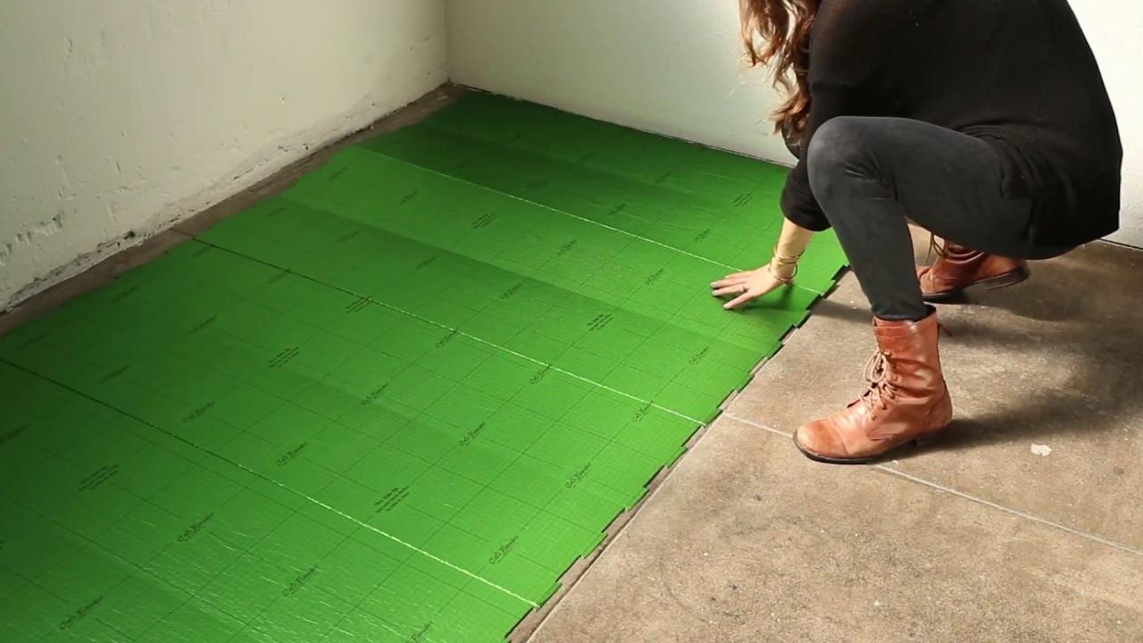 cali complete flooring underlayment installation - youtube