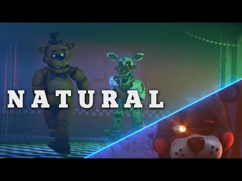 Natural - Imagine Dragons [Cover] SFM FNAF Animation