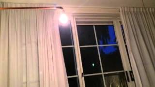 Diy motorized curtains test 1
