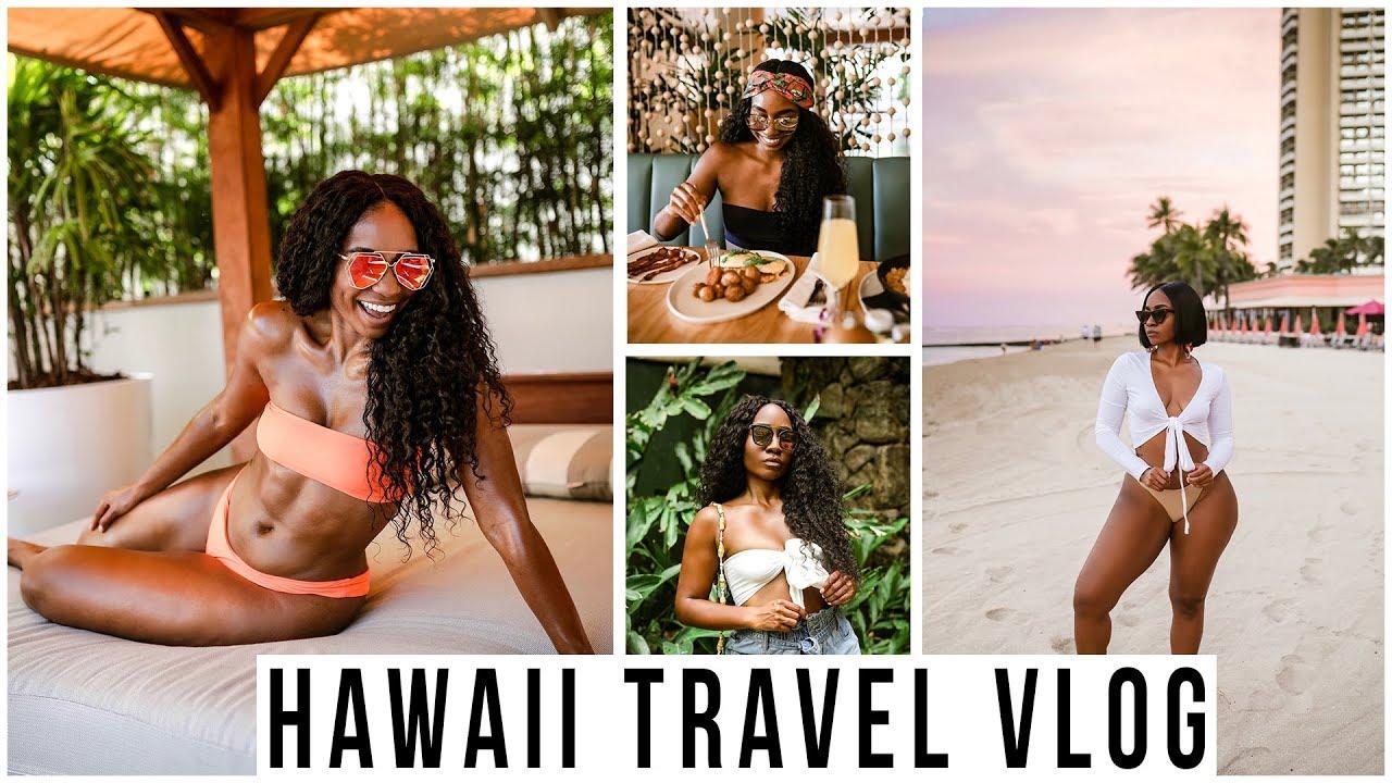 Hawaii Vlog -- Laylow Waikiki Hotel, Influencer Collaborations, Shooting Tips, Loose Wigs etc...