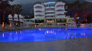 Турция Кемер посёлок Бельдиби обзор отеля Catamaran resort hotel