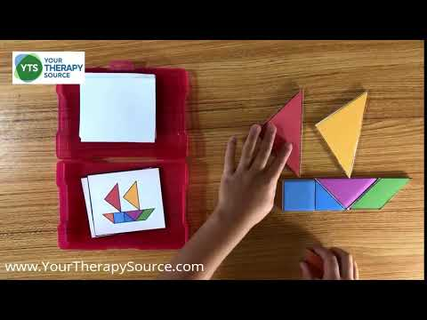 Tangram Printable Puzzles