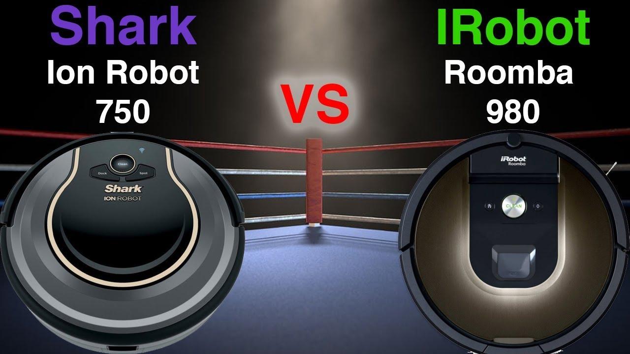Shark Ion Robot 750 Vs Irobot Roomba 980 Detailed