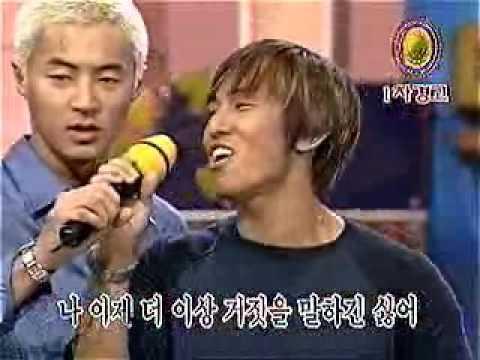 shinhwa vs  baby vox   karaoke showdown 09 30 01