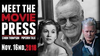 Stan Lee Tribute, Rebecca Remake, & Fantastic Beasts: Crimes of Grindelwald - Meet the Movie Press streaming