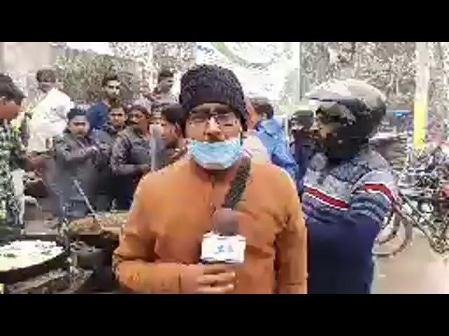 गणतंत्र दिवस पर छपरा में राष्ट्रीय मिठाई जलेबी की दुकानों पर दिखी भीड़