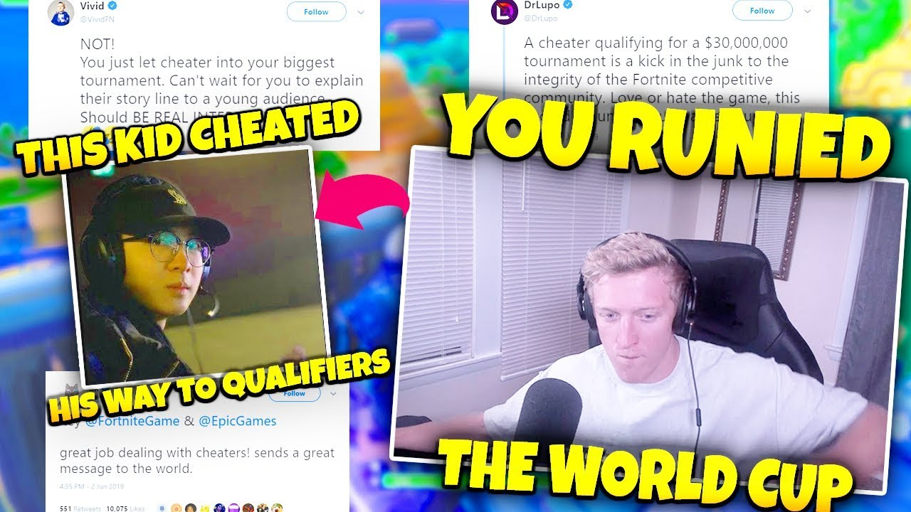STREAMERS ARE ABSOLUTELY DISGUSTED AFTER XIFF AND RONALDO CHEATED THERE WAY TO QUALIFIERS!!!