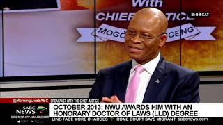 Breakfast with Chief Justice Mogoeng Mogoeng: Part 3