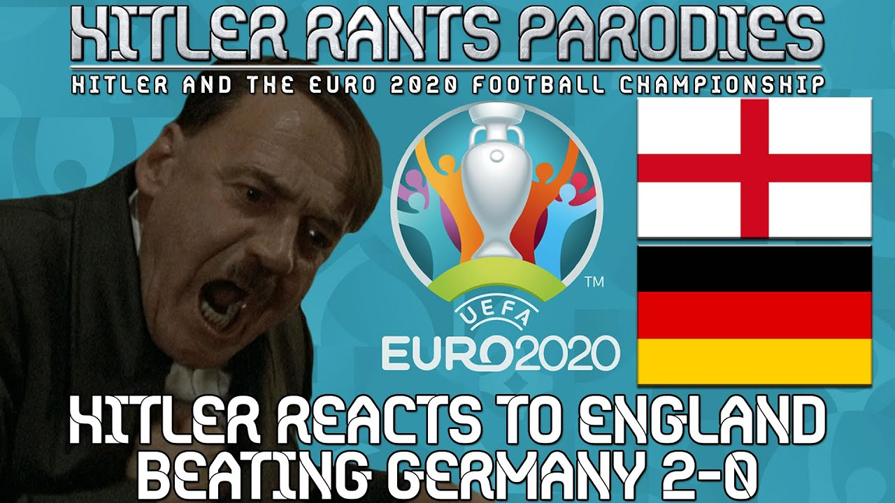 Hitler reacts to England beating Germany 2-0