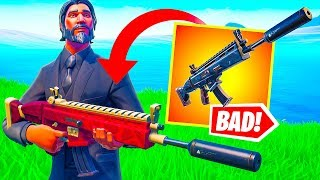 Is This The Worst Gun in Fortnite? (Season 8)
