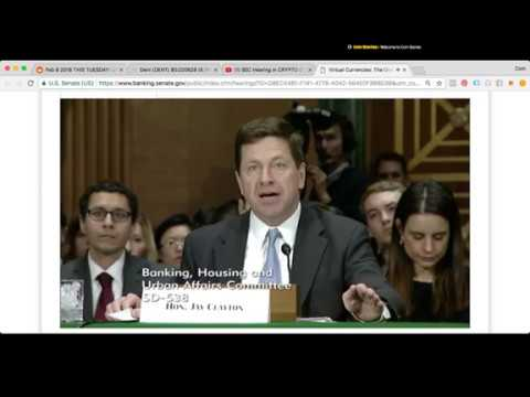 Feb 6 cryptocurrency hearing
