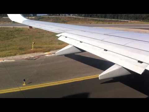 Ryanair Takeoff From Girona (Spain)
