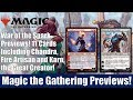 MTG War of the Spark Previews: 11 Cards Including Chandra, Fire Artisan and Karn, the Great Creator
