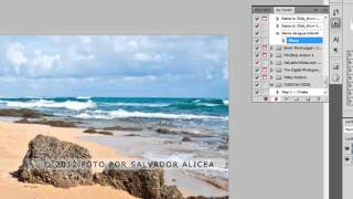 Como aplicar una marca de agua usando photoshop