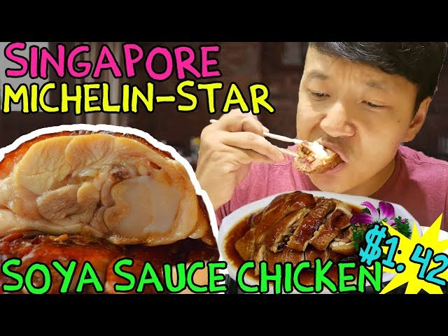 The CHEAPEST Michelin Star Meal in The WORLD! $2 Chicken Rice!