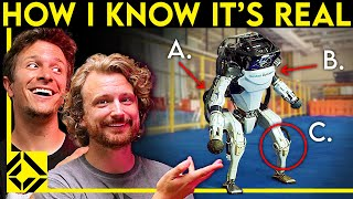 Boston Dynamics Robots Can't be Faked - VFX Artists Explain Why