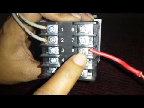 how to connect and set pid temperature controller itc 100vh wiring connection of yudian make pid controller by ants ceramics pvt