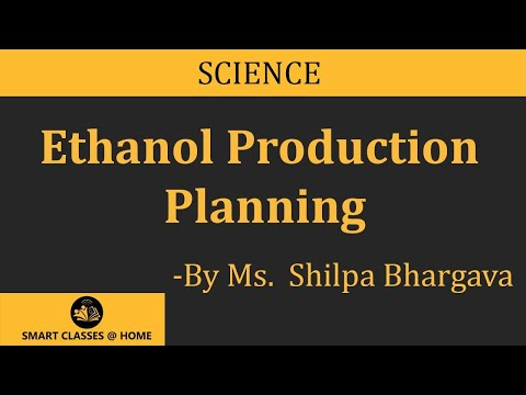 Ethanol Production Planning(B.Sc)