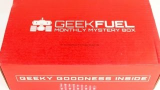 Geek Fuel February 2016 Unboxing + Coupon @TheGeekFuel