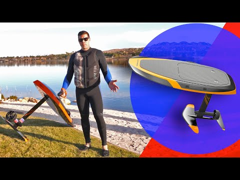 This 6,000-watt Motorized Surfboard Lets You Fly On Water FAST