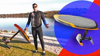 A surfboard you can DRIVE in water! (Waydoo Flyer hands-on)