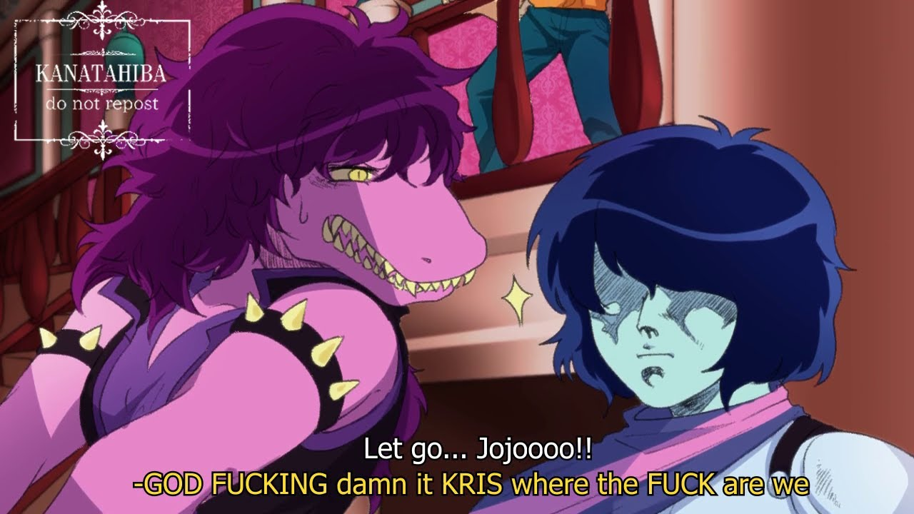 God damnit Kris wherein the bizarre adventure are we?! [JonaDio]