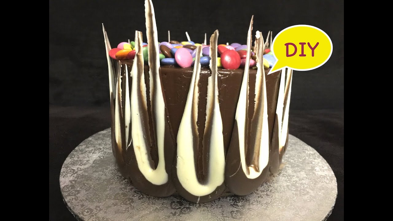 Easy Chocolate Decorations By Dessert Wizard Youtube