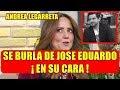 ANDREA LEGARRETA hace BR0MA sobre JOSE EDUARDO tras P0SIBLE SALIDA de HOY