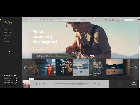 Artlist - My favorite music library