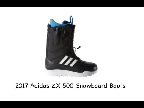 2017 Adidas ZX500 Snowboard Boots Review The