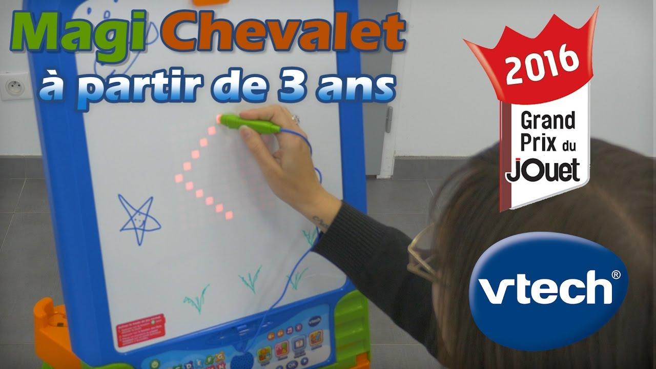 Vtech Magi Chevalet Demo Du Tableau Interactif 3 En 1
