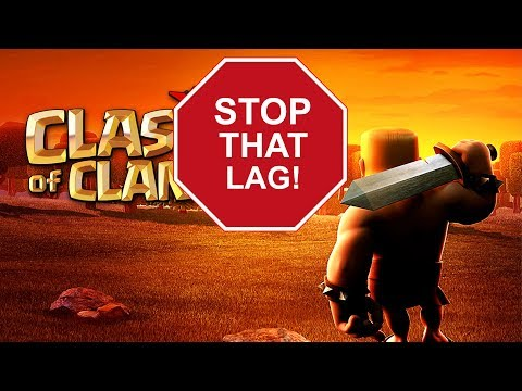 Clash Of Clans - How To Fix Lag & Crashing