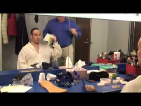 Dallas Opera's David Zimmerman is the fastest Make-up Artist in the West