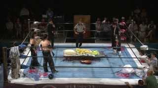2013年7月28日 名古屋・クラブダイアモンドホール BJW認定タッグ選手権...