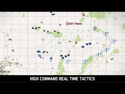 ArmA III: High Command Mode - Real Time Tactics