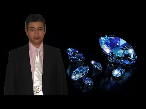بلقزيز تاشفين يثبت وجود الالماس  والأحجار الكريمة   diamands  في المغرب