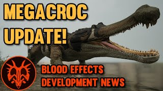 MEGACROC! Sarcosuchus Update and Development News!