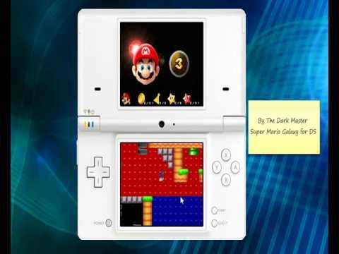 Super Mario Galaxy Ds Test Homebrew Nintendo Ds Youtube