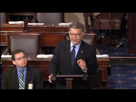 Sen. Franken Delivers Speech on