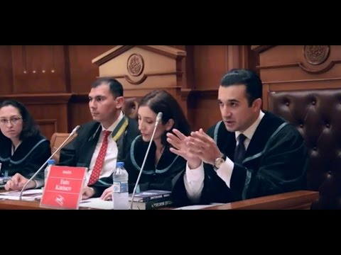 Topchubashov Moot Court Competition 2016 Final Round