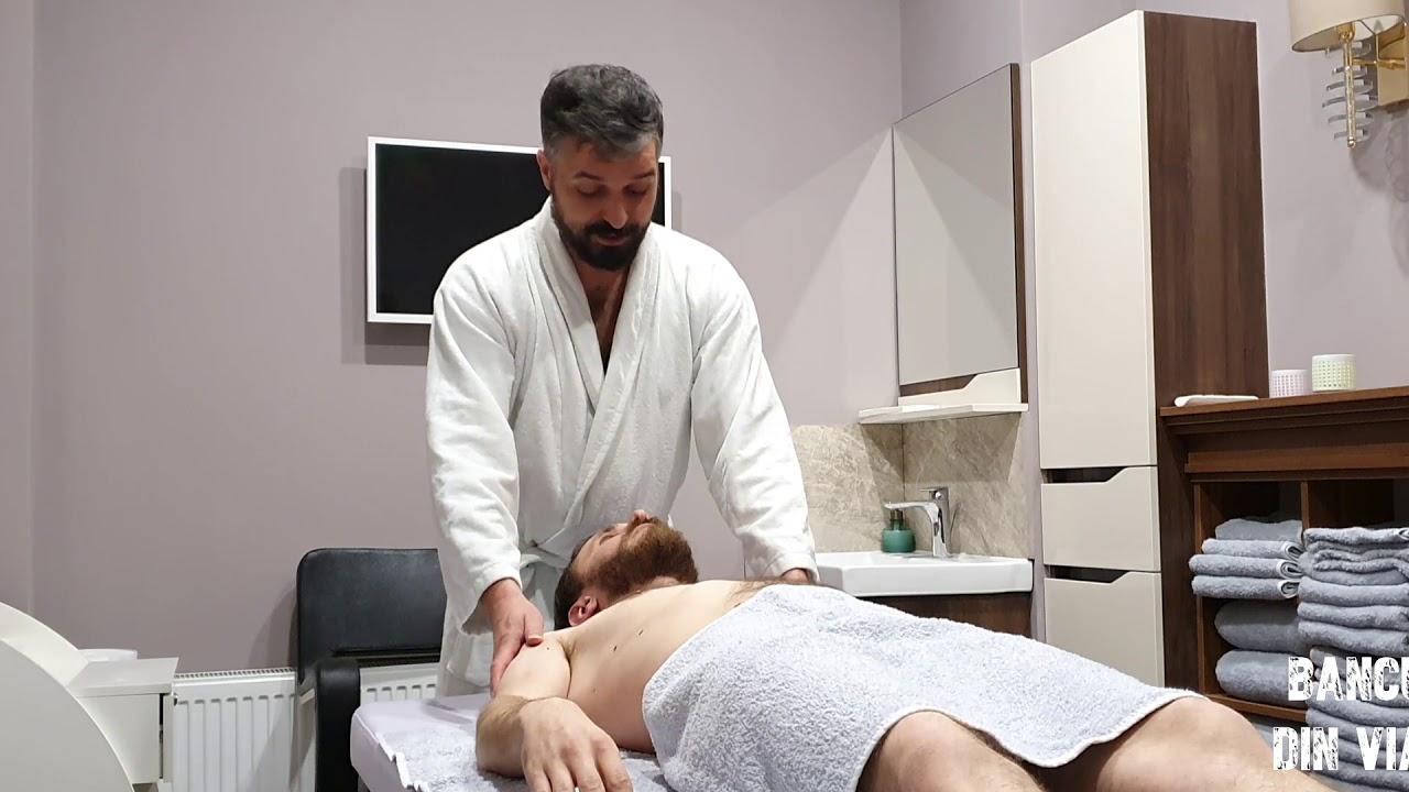 Erecție în timpul masajului de prostată. Mănușă penis