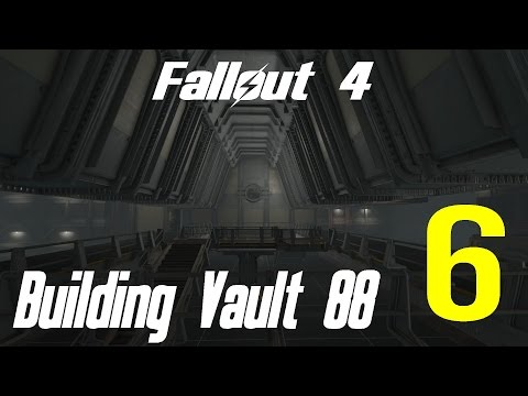Fallout 4 Let's Play Building Vault 88 Atrium 6 Residential