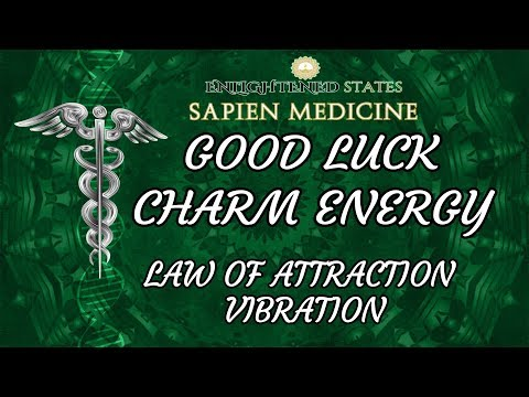 POWERFUL GOOD LUCK ENERGY: Attract Good Fortune and Miracles W/ Law of Attraction Vibration