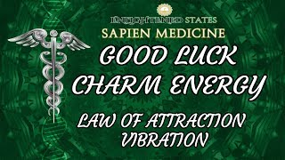 POWERFUL GOOD LUCK ENERGY Attract Good Fortune and Miracles W Law of Attraction Vibration