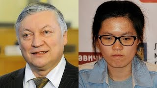 Шахматы. Анатолий Карпов - Хоу Ифань [5 партия]: решающая партия матча!