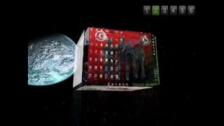 3d cube desktop