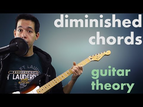 Deconstructing Diminished Chords – Music Theory for Guitar