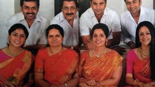 SURIYA family:Actor Sivakumar FAMILY photo shoot | SURYA| Karthi | Jyothika personal video
