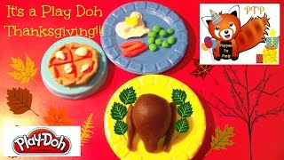 Play Doh Thanksgiving Day Party